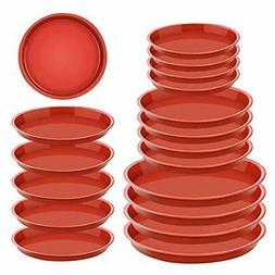 20 Pieces Plant Saucer in 6 8 10 Inches Flower Pot Saucers R