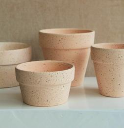 Flower Pots Ceramic Indoor Outdoor Clay Pottery Planter Cact