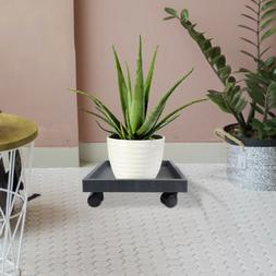 Indoor Outdoor Garden Patio Flower Pot Plant Stand Tray Hold