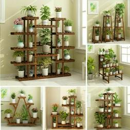 Small Medium Large Multi Tier Tiered Plant Stand Carbonized