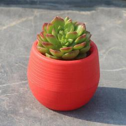 Small Succulent Planters Indoor Flower Plant Pots with Drain
