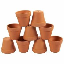 Terra Cotta Pots 9-Pack Mini Clay Flower Pot Planters for In